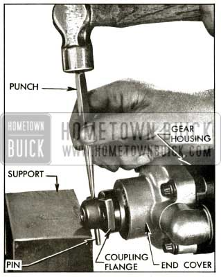 1956 Buick Removing Coupling Flange