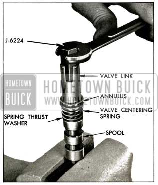 1956 Buick Removing Valve Link