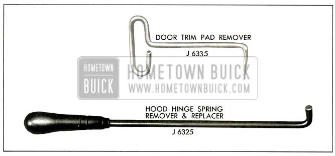 1956 Buick Service Tools