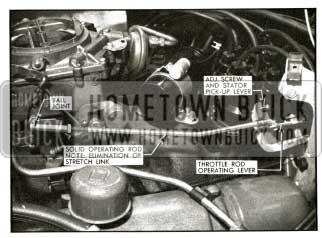 1956 Buick Throttle Linkage