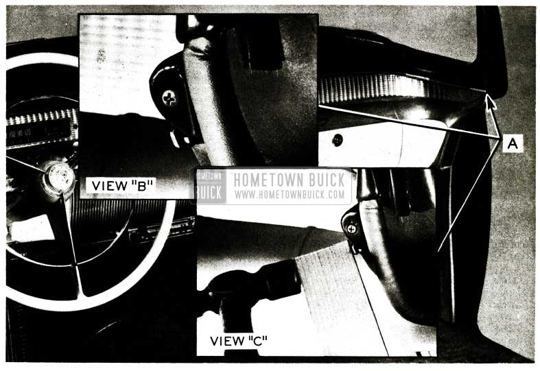 1956 Buick Trim Moulding Correction