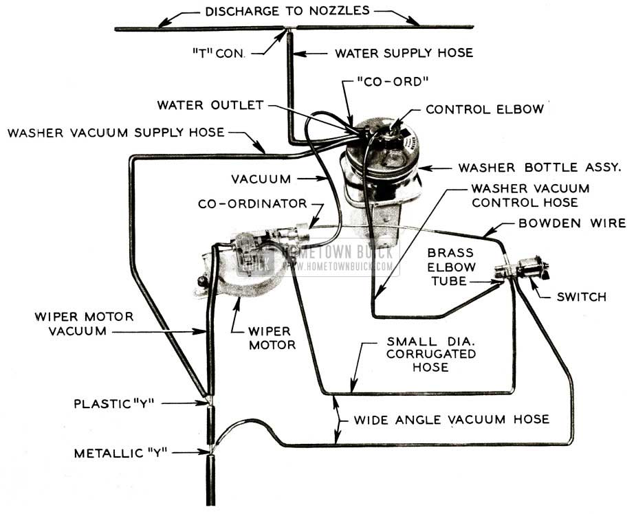 windshield wiper vacuum diagram