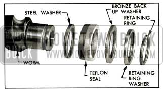 1956 Buick Worm Seal Assembly