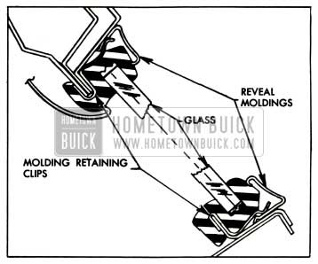 1957 Buick Back Window Assembly