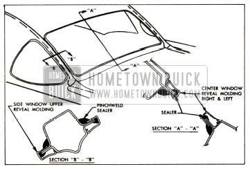 1957 Buick Back Window Sealing