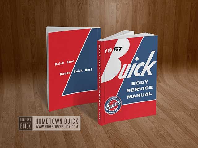 1957 Buick Body Service Manual