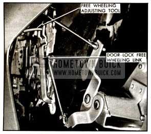 1957 Buick Free Wheeling Adjustment