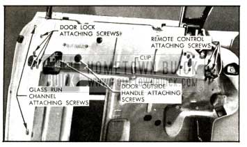 1957 Buick Front Door Lock Mechanisms