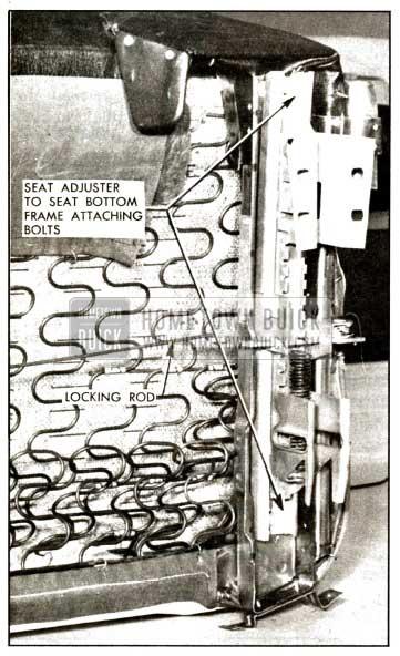 1957 Buick Locking Rod Installation
