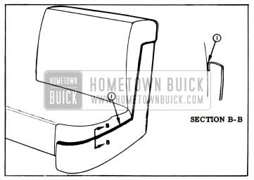 1957 Buick Lubrication of Seat Side Panel