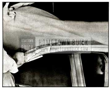 1957 Buick Positioning Back Curtain