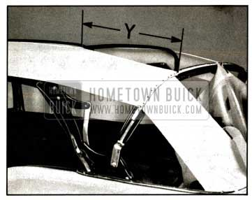 1957 Buick Positioning of Bows