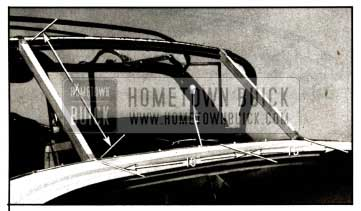 1957 Buick Rear Bow Positioning