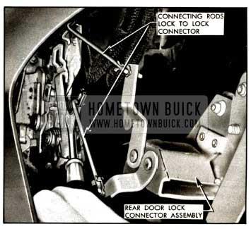 1957 Buick Rear Door Lock Removal