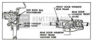1957 Buick Rear Door Window Alignment