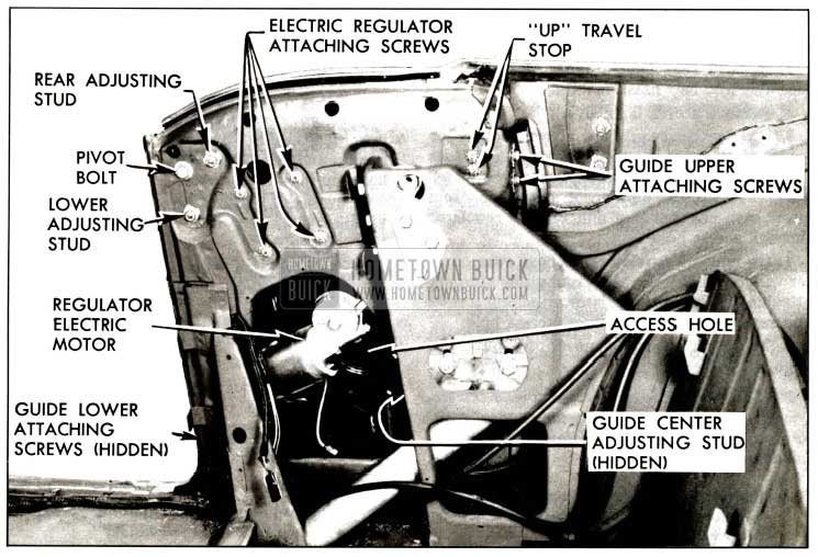 1957 Buick Rear Quarter Window Installation and Removal Procedure