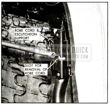 1957 Buick Robe Cord Attachment