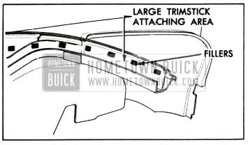 1957 Buick Trim Stick Fillers