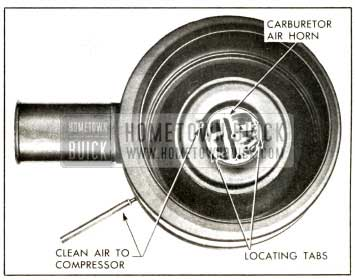 1958 Buick Air Cleaner Mounting