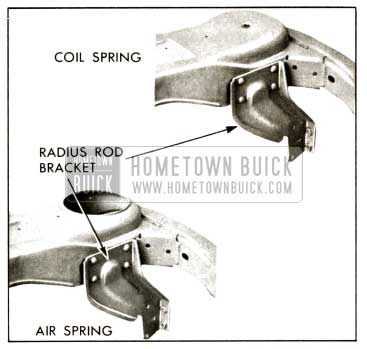 1958 Buick Air-Poise and Coil Spring Rear Cross-Member