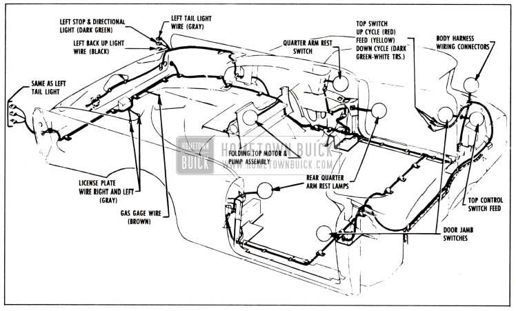 1958 jaguar wiring diagram 1958 buick electrical - hometown buick