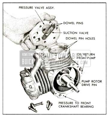 1958 Buick Compressor - Install Head and Suction Valve