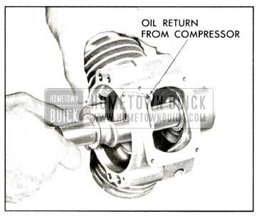 1958 Buick Compressor - Remove Crankshaft