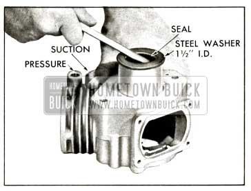 1958 Buick Compressor - Remove Front Oil Seal