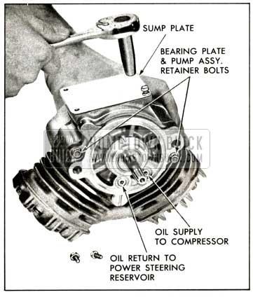1958 Buick Compressor - Remove Sump Plate