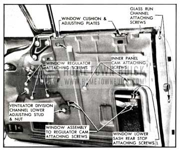 1958 Buick Electric Front Window Regulator