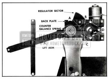 1958 Buick Electric Window Regulator