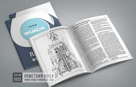 1958 Buick Flight Pitch Dynaflow Manual Manual - 02