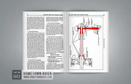 1958 Buick Flight Pitch Dynaflow Manual Manual - 03