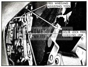 1958 Buick Free Wheeling Adjustment