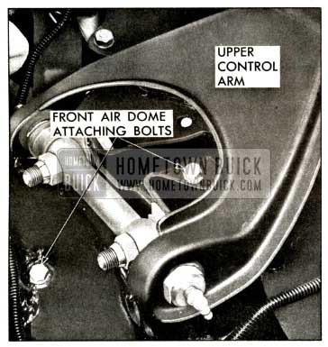 1958 Buick Front Air Dome Attaching Bolts
