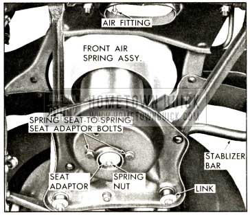 1958 Buick Front Air Spring Assembly