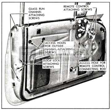 1958 Buick Front Door Lock-Rivieras and Convertibles