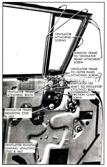 1958 Buick Front Door Ventilator