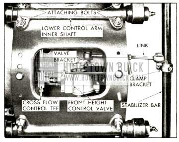 1958 Buick Front Height Valve Assembly