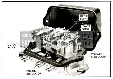 1958 Buick Generator Regulator