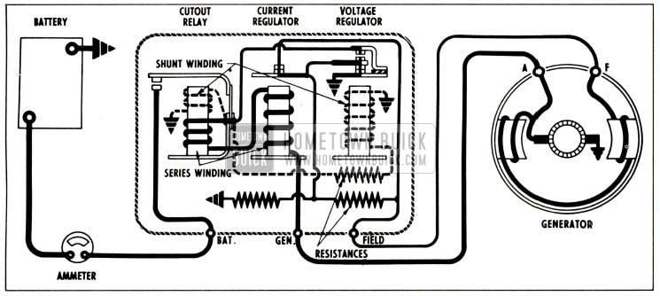 1958 Buick Generator System Circuits
