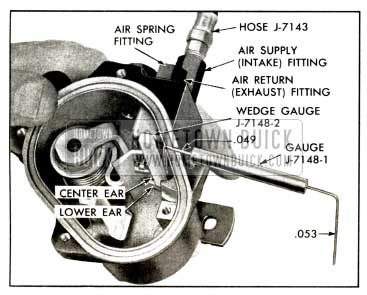 1958 Buick Height Valve - Checking Intake Valve