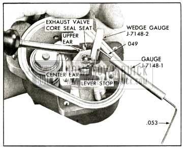 1958 Buick Height Valve Core Setting