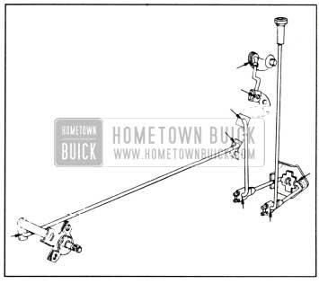 1958 Buick Lubrication of Door Inside Locking Rods