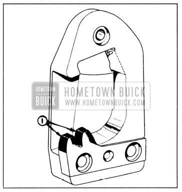 1958 Buick Lubrication of Door Lock Striker