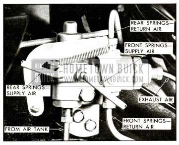 1958 Buick Manual Override Valve View
