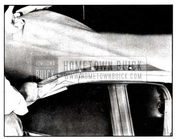 1958 Buick Positioning Back Curtain