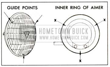 1958 Buick Positioning Headlamp Aimer