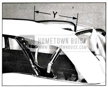 1958 Buick Positioning of Bows