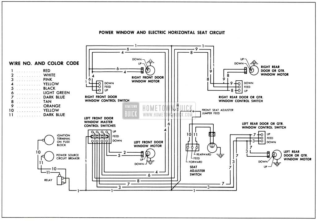 1956 chevy power windows wiring diagram chevy electrical